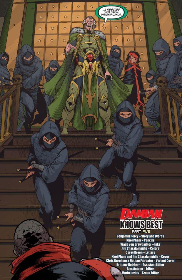 Ra's Al Ghul (Teen Titans Vol. 6 #5)