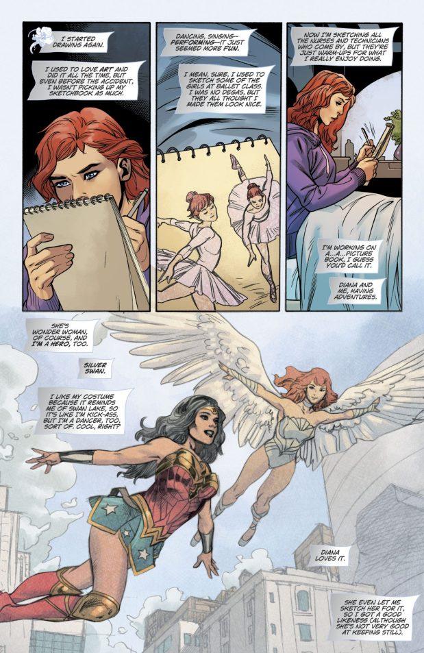 Silver Swan's Origin Story (Rebirth)