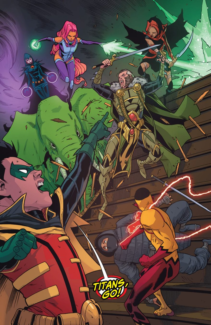 Teen Titans And Demon's Fist VS League Of Assassins