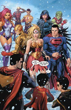 Teen Titans And Titans Of Tomorrow (Rebirth)