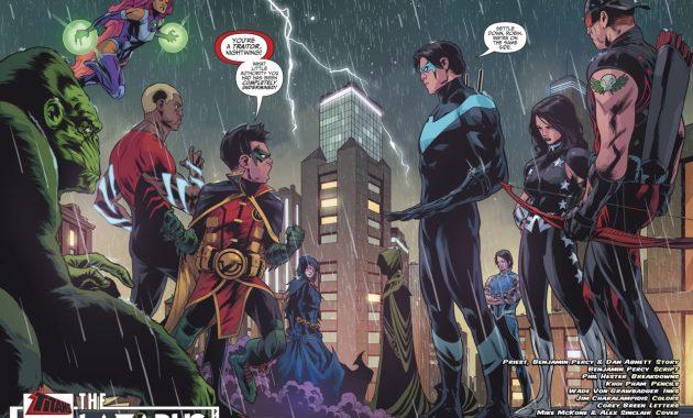 Teen Titans And Titans (Teen Titans Vol 6 #8)