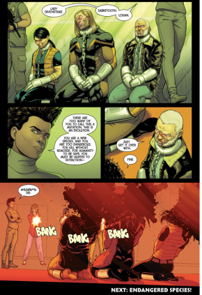 The Orphans Of X Executes Old Man Logan, Sabretooth And Lady Deathstrike