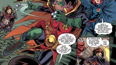 The Teen Titans Learn Damian Wayne's Secret