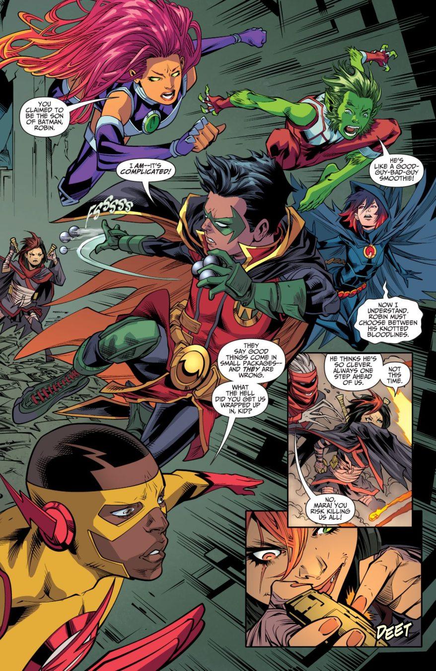 The Teen Titans Learn Damian Wayne's Secret