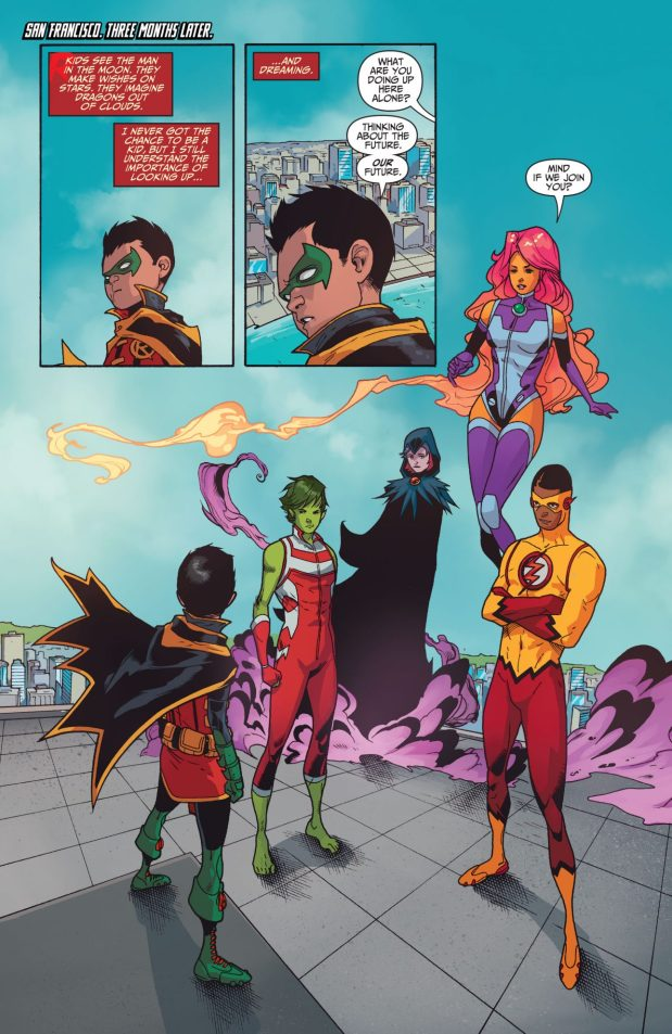 Titans Tower (Teen Titans Vol 6 #5) 1
