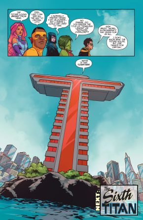 Titans Tower (Teen Titans Vol 6 #5) 1
