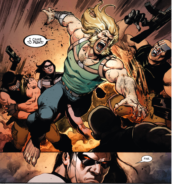 Weapon X VS Nuke Platoon