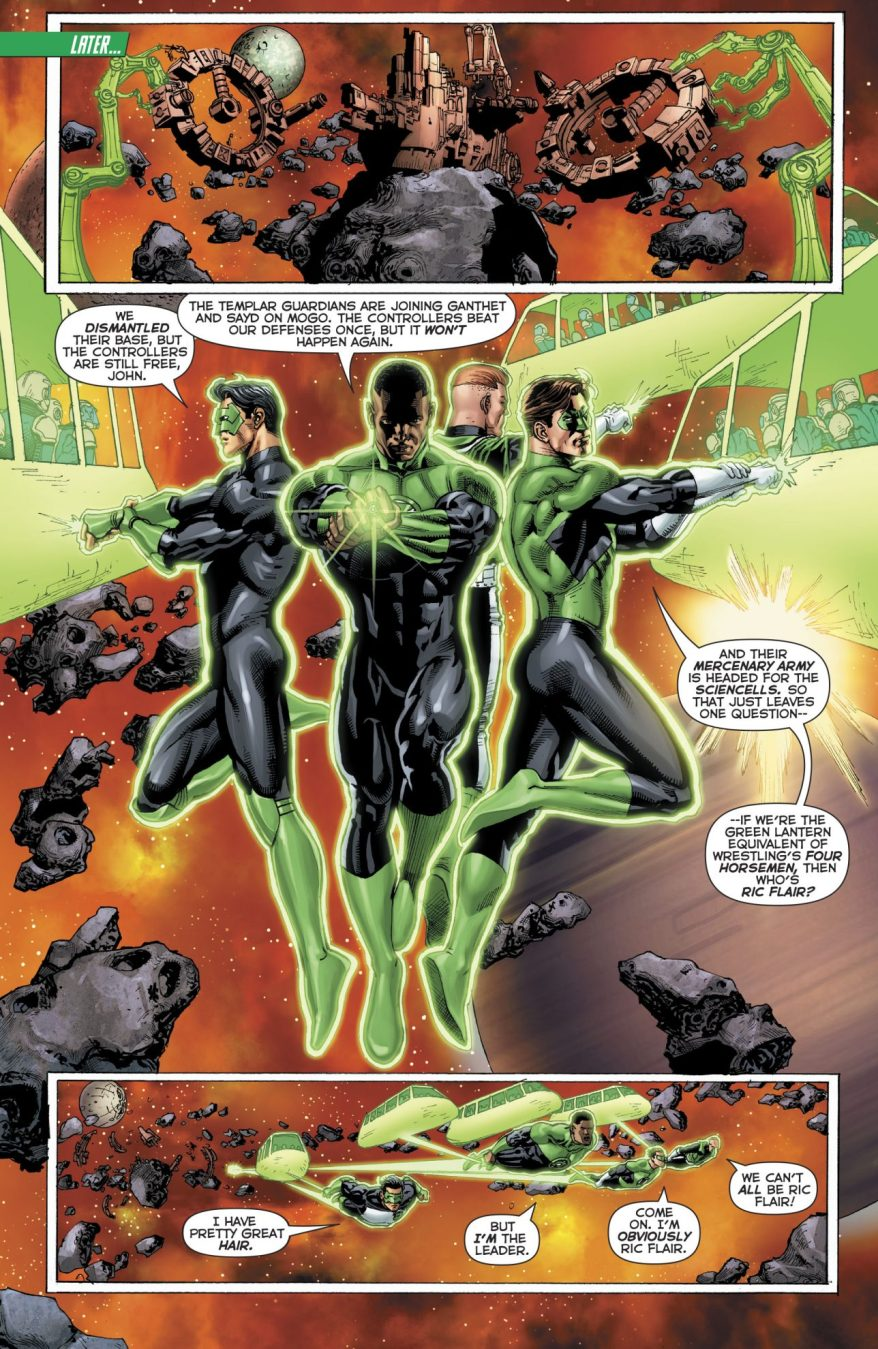 Who's The Ric Flair Of The Green Lantern Corps