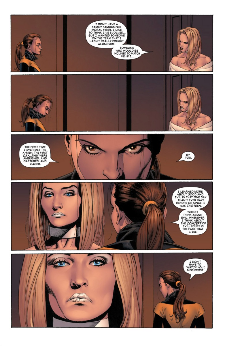 Why Emma Frost Wants Kitty Pryde On The X-Men