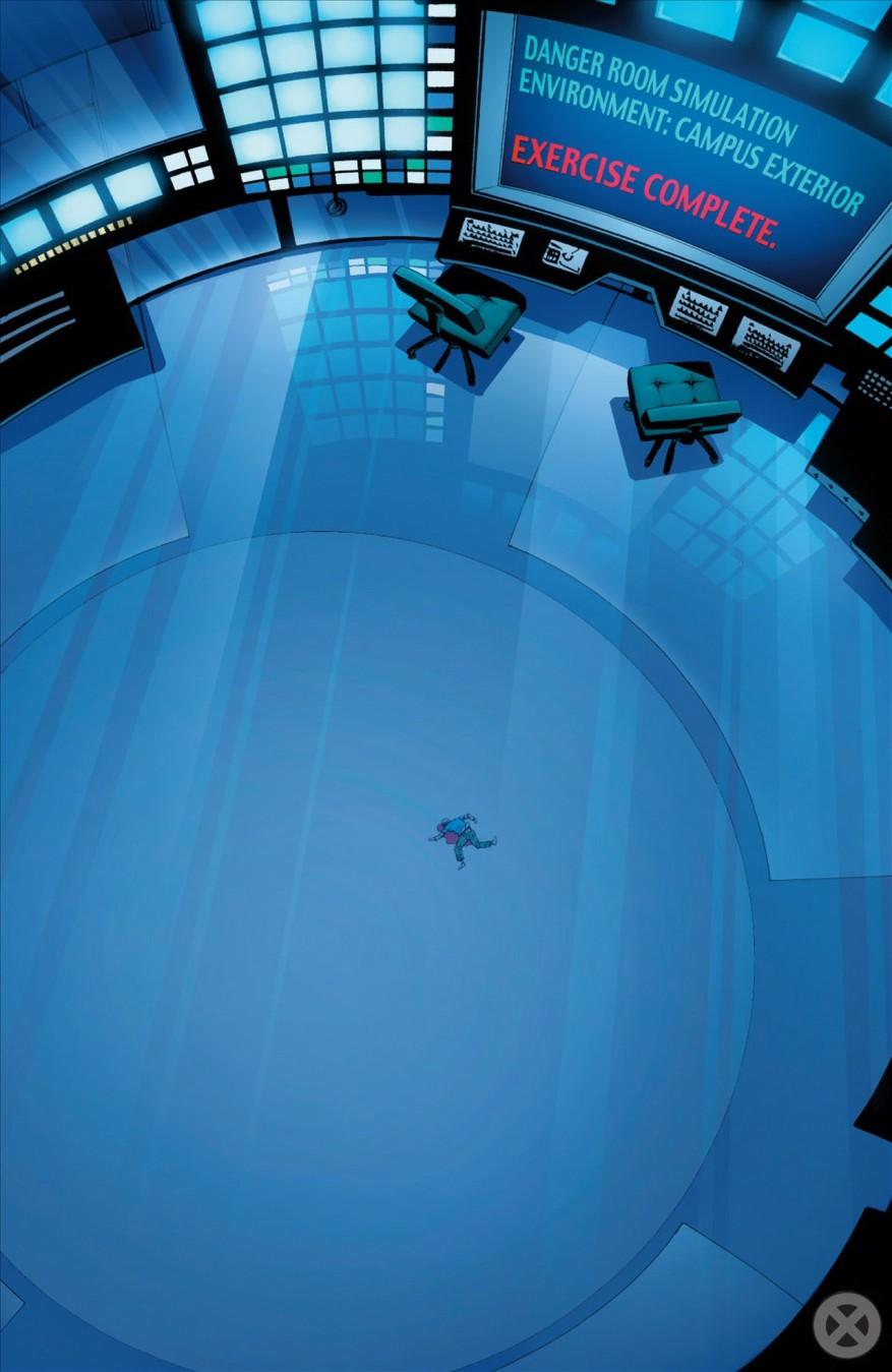 Wing Dies Inside The Danger Room