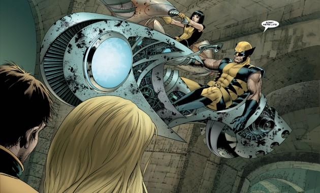 Wolverine And Armor (Astonishing X-Men Vol 3 #21)