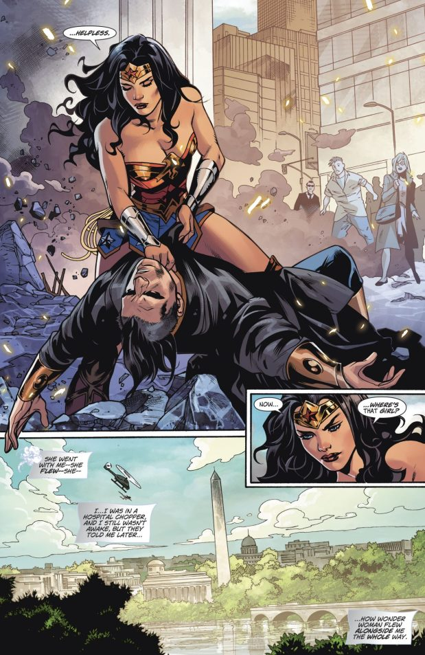 Wonder Woman VS Major Disaster (Rebirth)