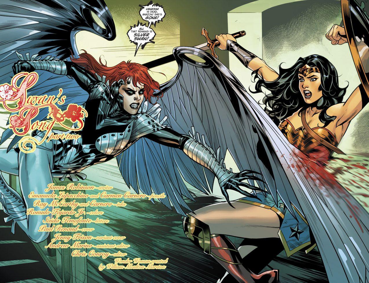 Wolverine vs wonder woman Part 6
