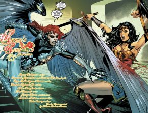 Wonder Woman VS Silver Swan (Rebirth)