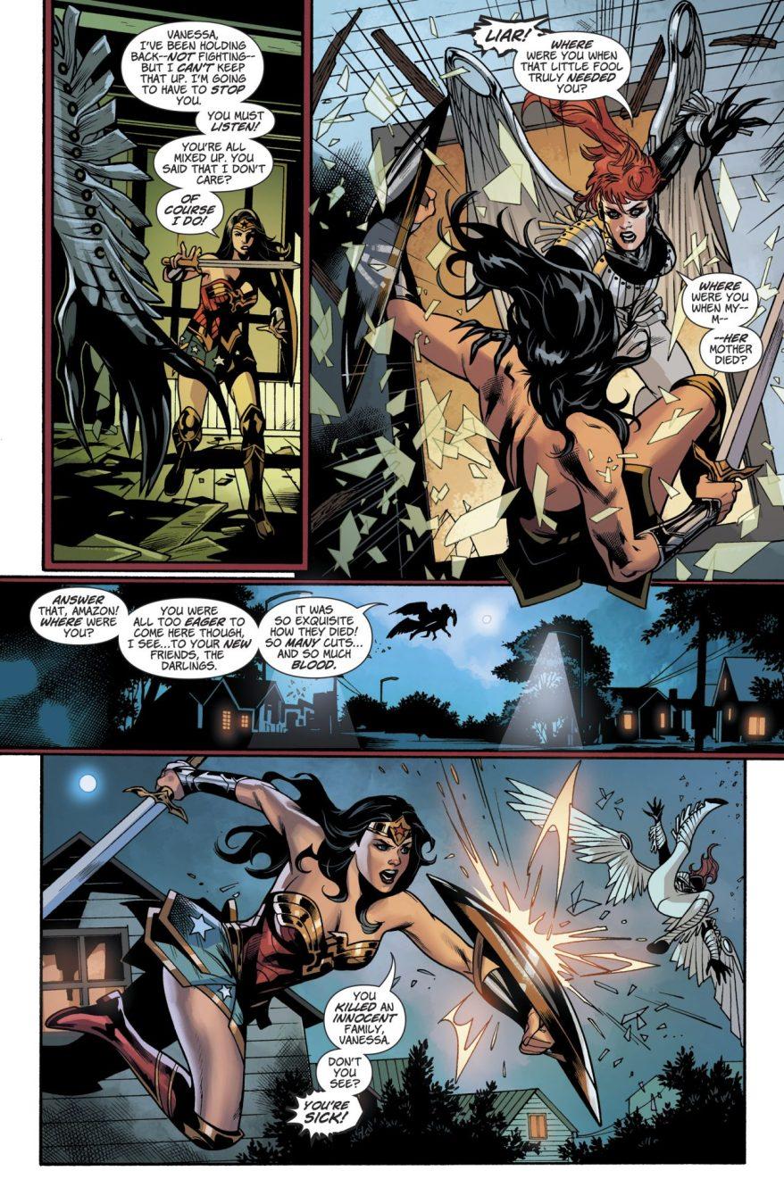 Wonder Woman VS Silver Swan (Rebirth)