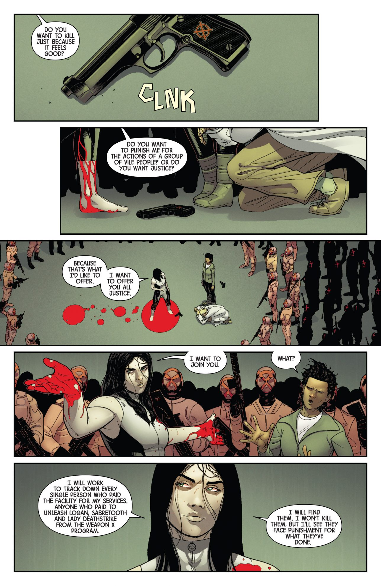 all new wolverine joins the orphans of x comicnewbies