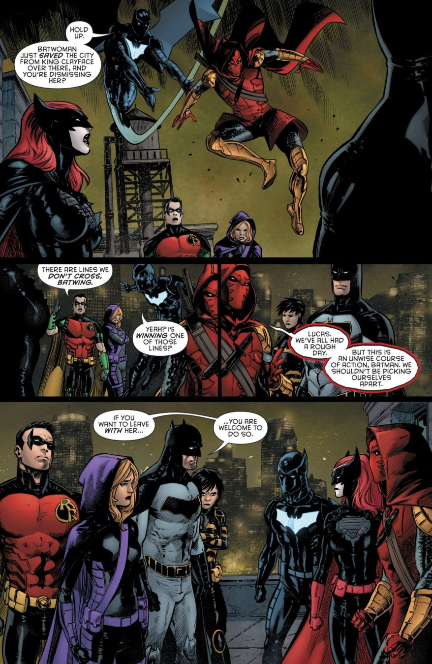 Batman Removes Batwoman From His Team (Rebirth)