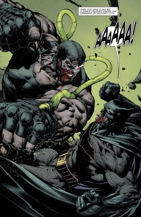 Batman VS Bane (Rebirth)