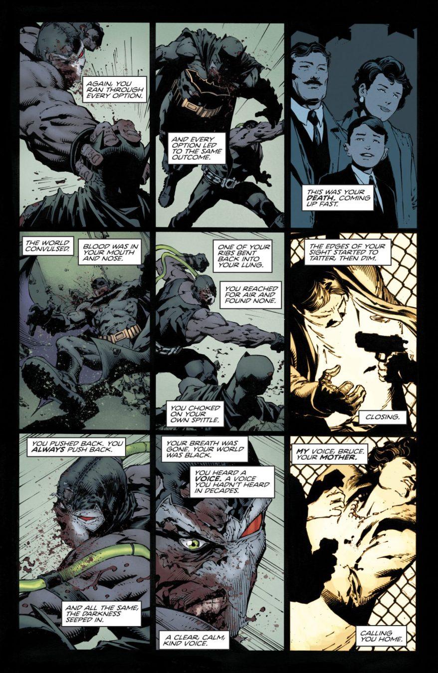 Batman VS Bane (Rebirth)
