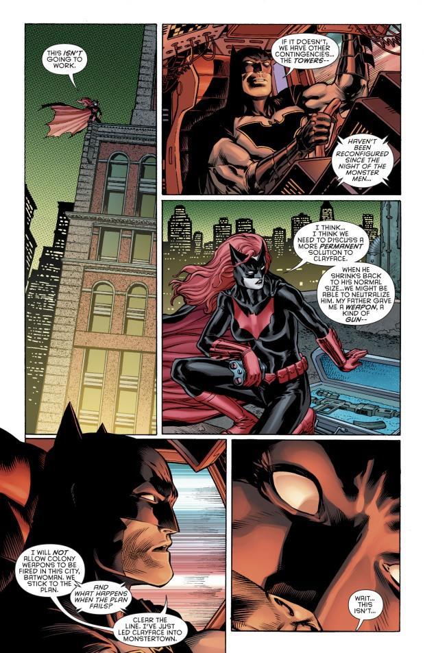 Batwoman Kills Clayface
