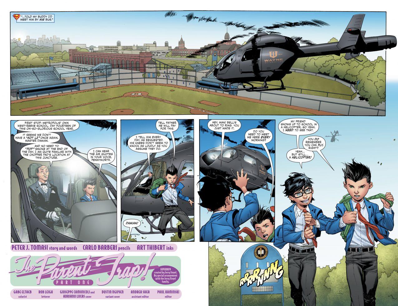 Damian Wayne As A School Student | Comicnewbies