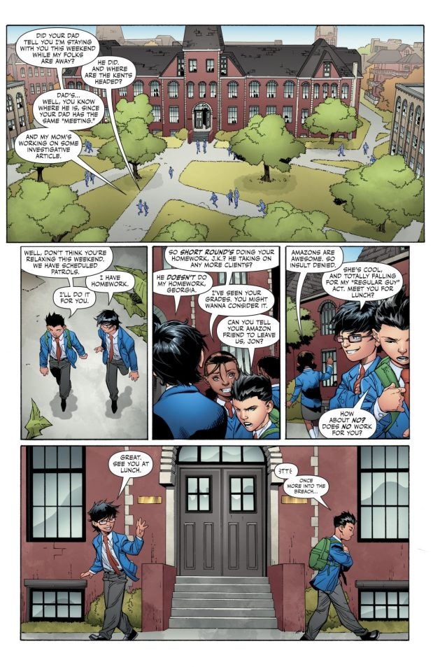 Damian Wayne As A School Student
