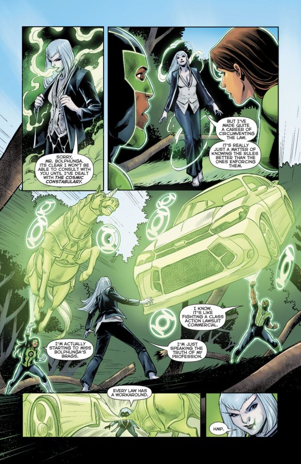 Green Lanterns Simon Baz And Jessica Cruz VS Singularity Jain