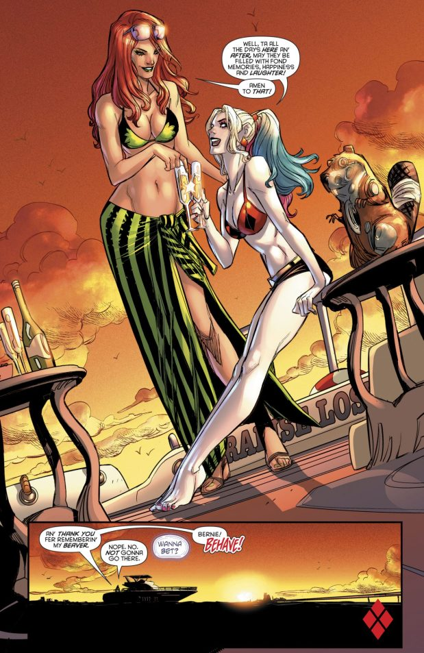 Harley Quinn And Poison Ivy (Harley Quinn Vol 3 #34)