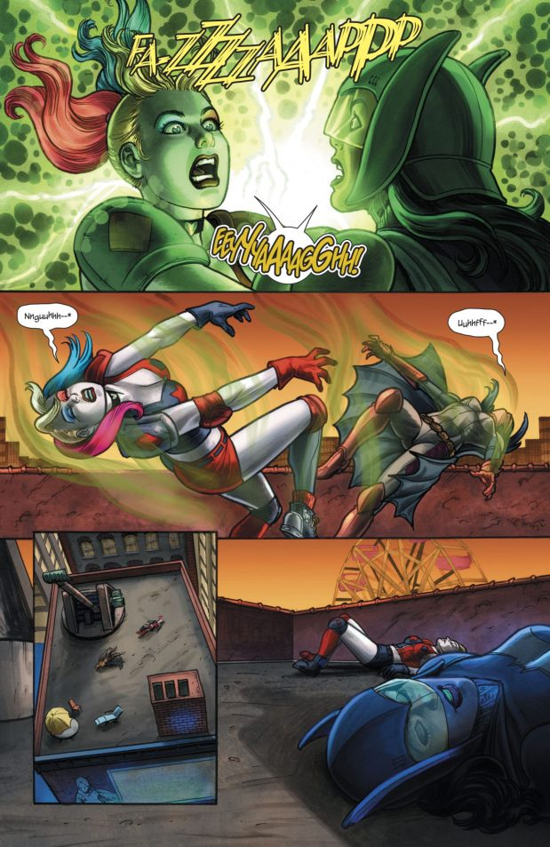 Harley Quinn VS Devani Kage
