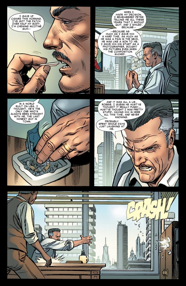 J. Jonah Jameson Learns Peter Parker Is Spider-Man