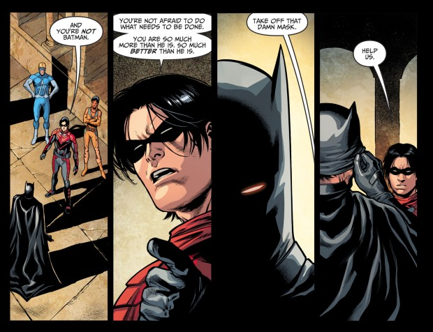 Jason Todd Is The Fake Batman (Injustice II)
