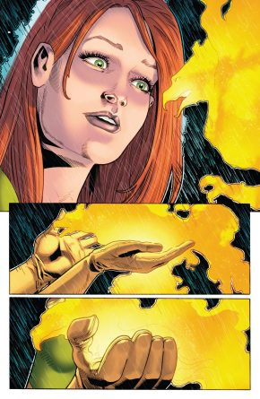 Jean Grey Turns Down The Phoenix (Phoenix Resurrection)