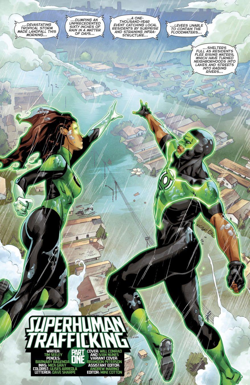 Jessica Cruz And Simon Baz (Green Lanterns Vol 1 #40)