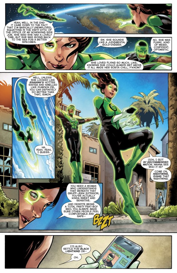Jessica Cruz Wants To Date Nightwing