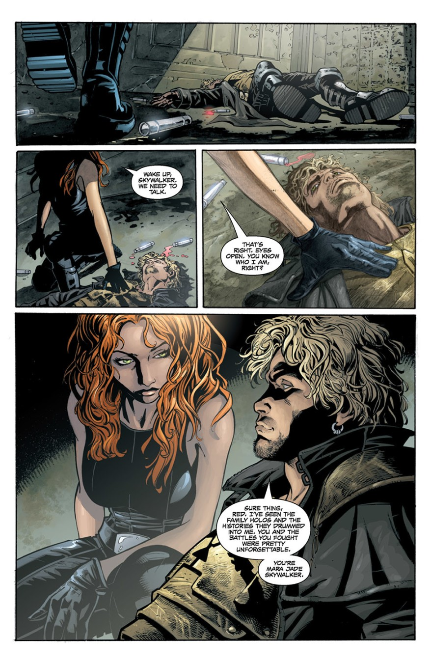 Mara Jade Skywalker Meets Cade Skywalker