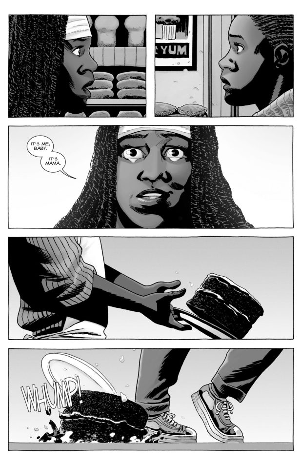 Michonne's Reunion With Her Lost Kid (The Walking Dead)