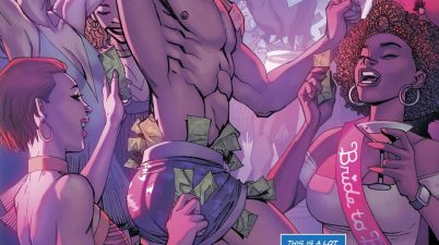 Nightwing As An Exotic Dancer