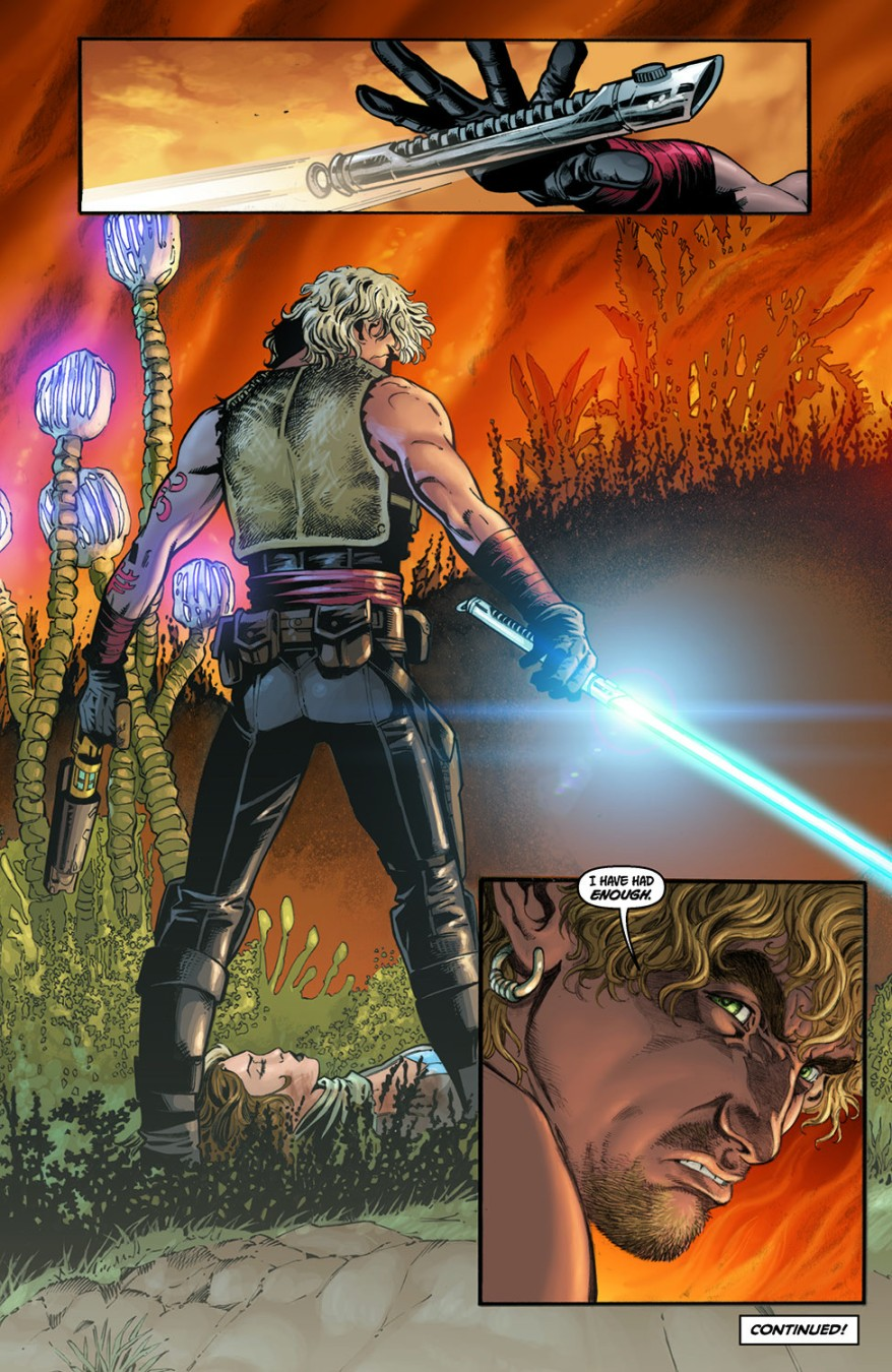 Princess Marasiah Fel Saves Cade Skywalker