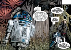 R2-D2 Is Returned To The Skywalker Family
