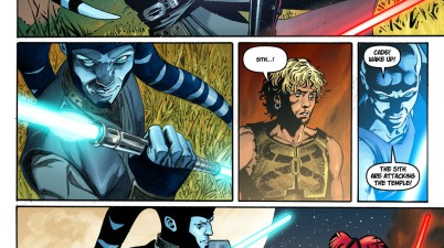 Shado Vao Uses A Double-Bladed Lightsaber