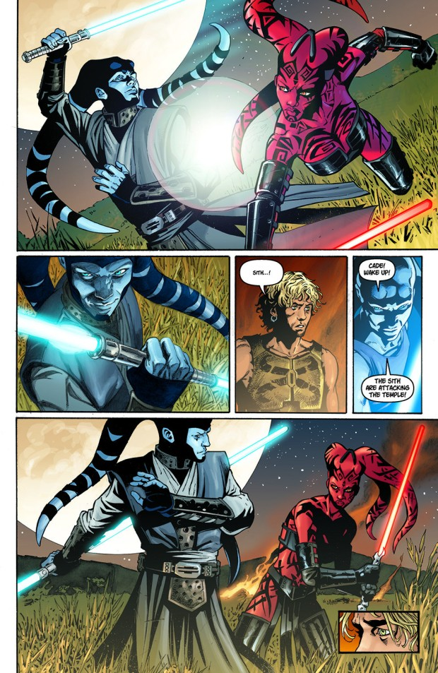 Shado Vao Uses A Double-Bladed Lightsaber