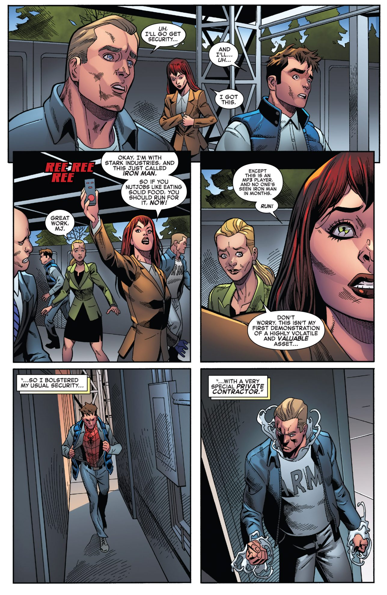 spider man and agent anti venom vs goblin king comicnewbies