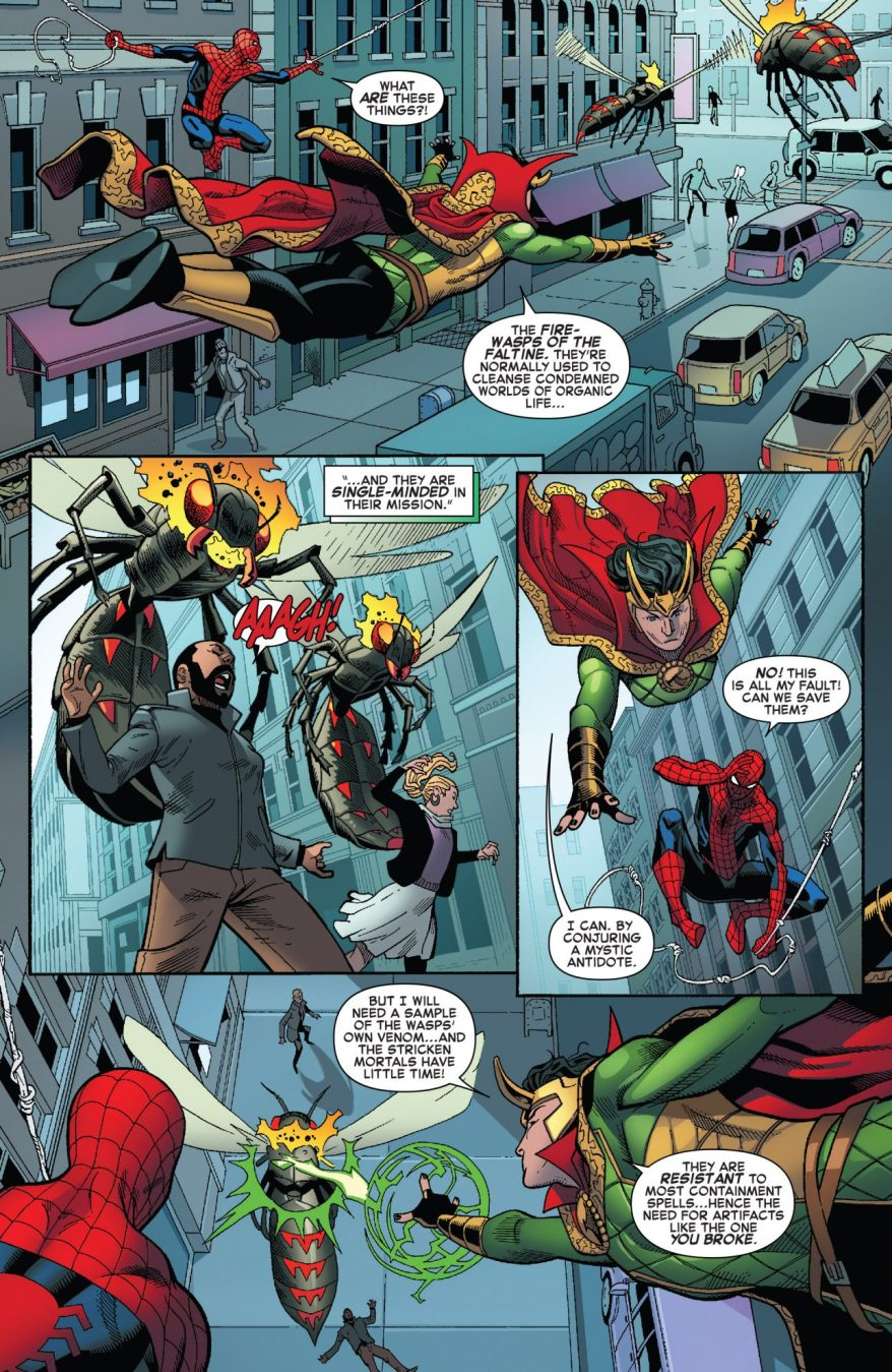Spider-Man And Sorcerer Supreme Loki Team Up