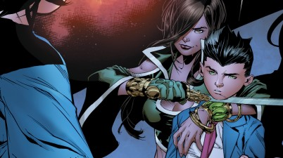 Superboy Meets Talia Al Ghul (Rebirth)