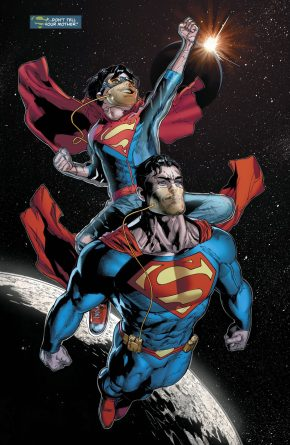 Superman And Superboy (Superman Vol 4 #37)