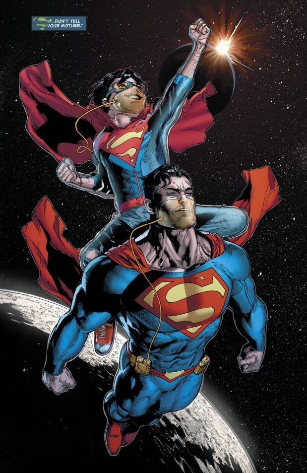 Superman And Superboy (Superman Vol 4 #37)