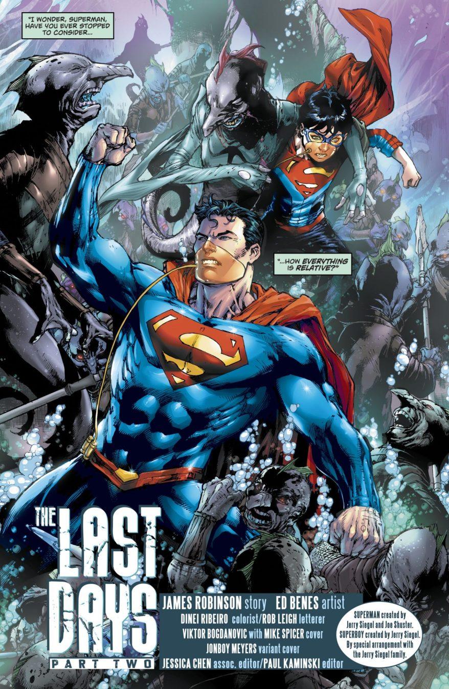 Superman And Superboy (Superman Vol 4 #41)