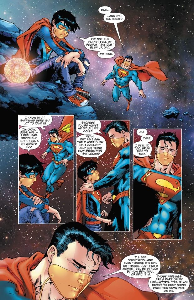Superman Talks To His Son About God