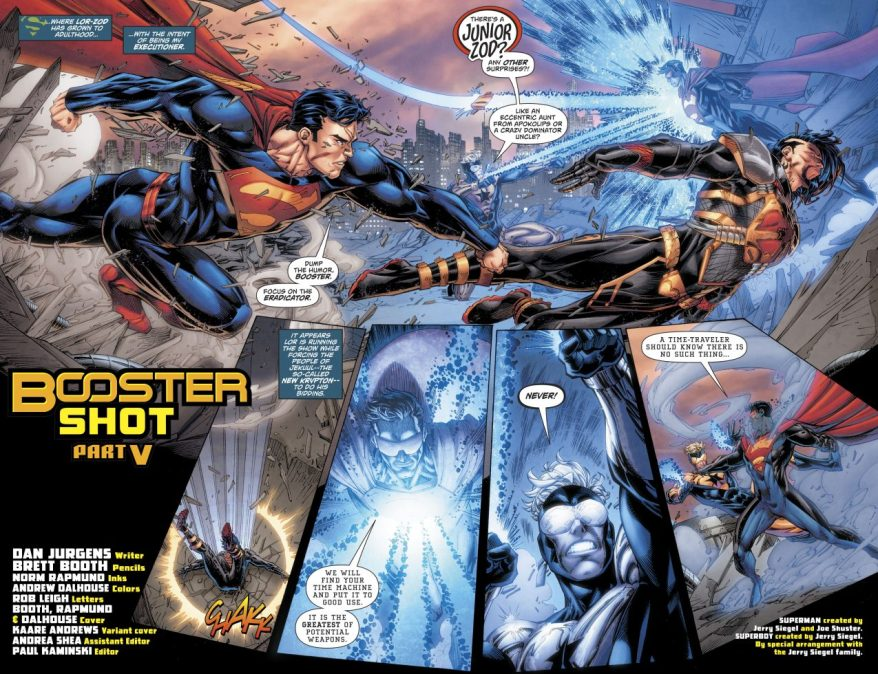 Superman VS Lor-Zod (Rebirth)