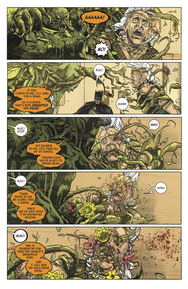 Swamp Thing Kills His Father's Murderer (Rebirth)